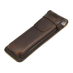 Etui na długopisy  TMC czekoladowy BDN3