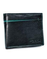 Funkcjonalny portfel męski skórzany Cavaldi®