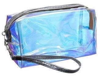 Kosmetyczna damska w kształcie prostokąta holograficzna