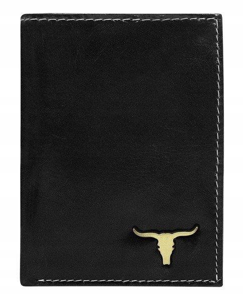 Codzienny portfel pionowy bez zapięcia, Buffalo Wild