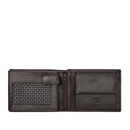 Elegancki męski portfel skórzany Nuvola Pelle