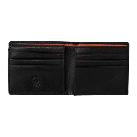 Elegancki, pojemny, męski portfel, etui skórzany