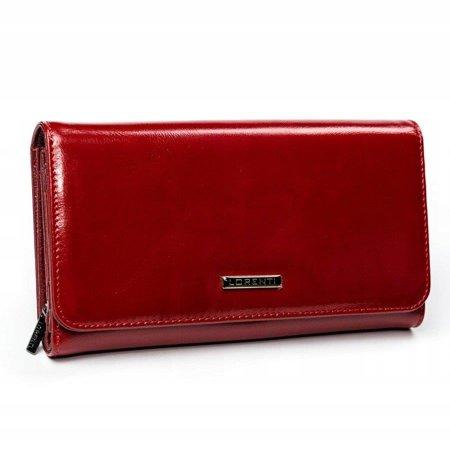 Lorenti klasyczny portfel damski skórzany RFID