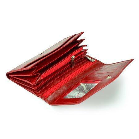 Portfel Elkor e105 czerwony