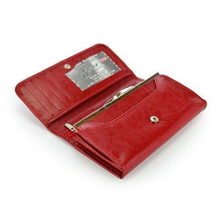 Portfel Elkor e116 czerwony