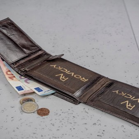 Rewelacyjny skórzany portfel męski skóra naturalna