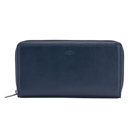 Stylowy duży damski portfel skórzany Nuvola Pelle